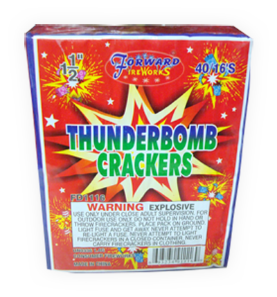 Firecrackers from many companies